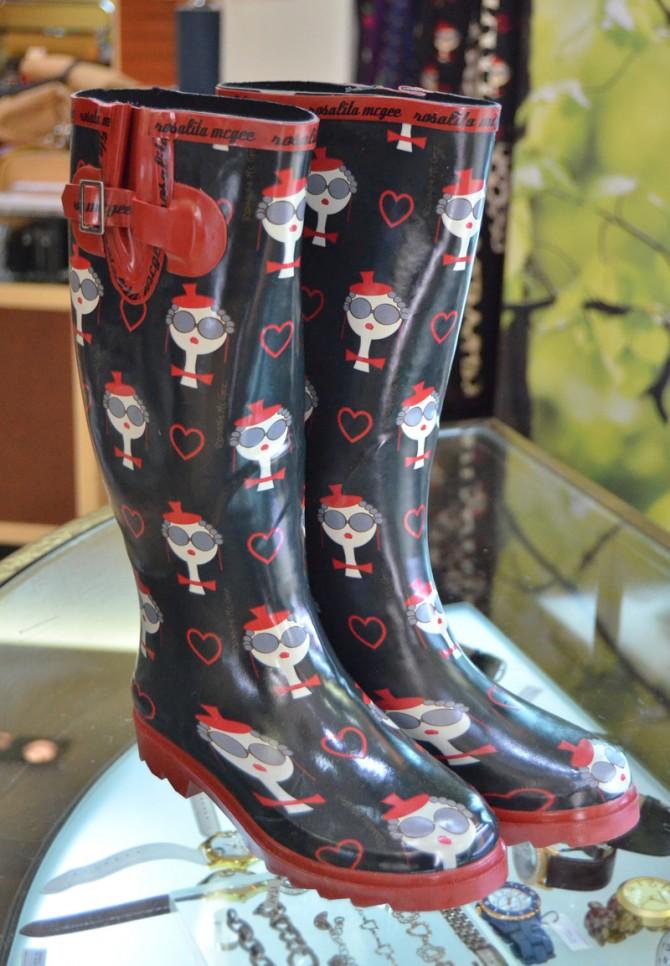 Botas de agua de Rosalita Mc Gee. 45€ | Tiendas Llanes